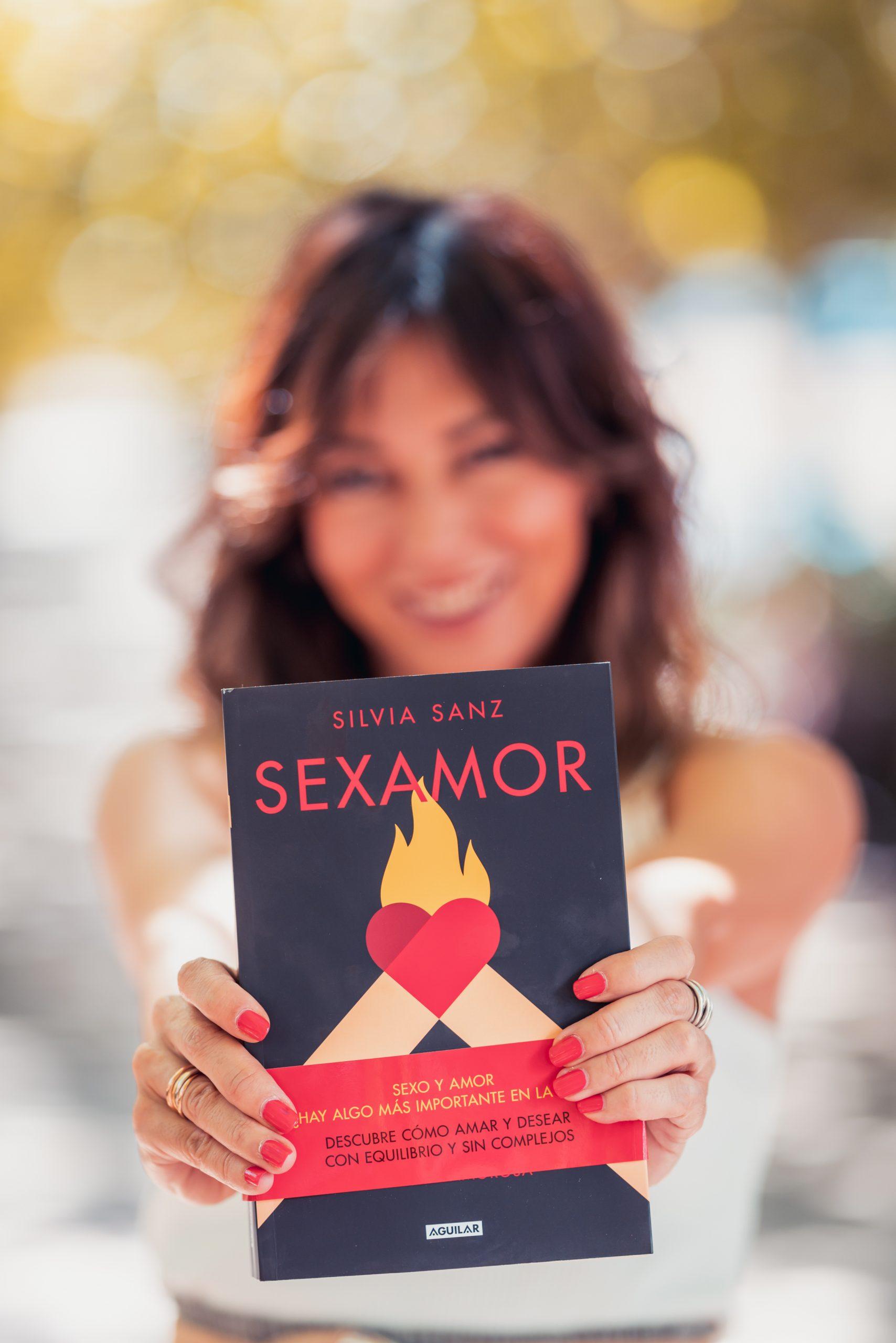 Silvia Sanz escritora libro Sexamor