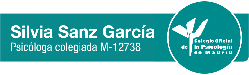 Silvia Sanz Garcia psicologa colegiada M-12738 del Colegio Oficial de Psicólogos de Madrid